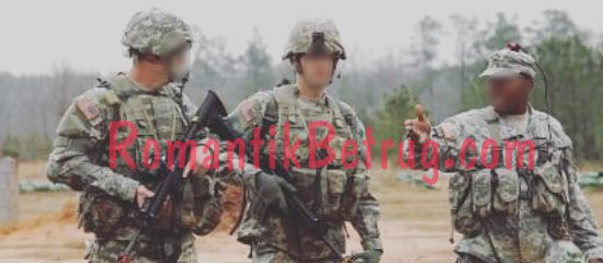 Betrugsmasche US Soldaten