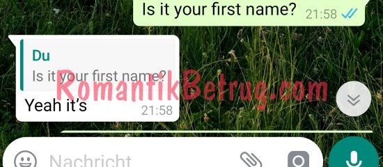 Betrüger nutzen zum Chatten bekannte Programme wie WhatsApp.
